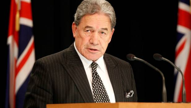 Winston Peters talking down the economy 'not going to be good'
