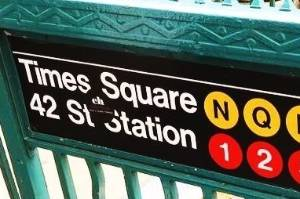 The best way to see New York via the subway.