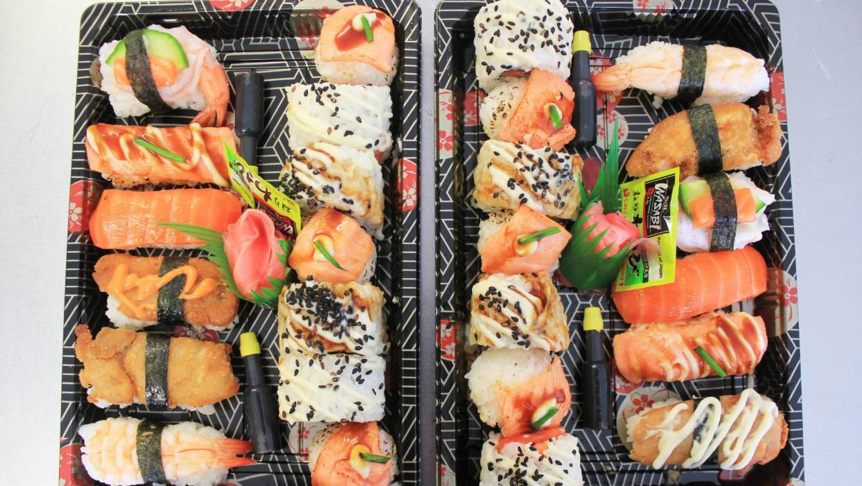 Raw sushi-eaters shouldn't be worried about tapeworms