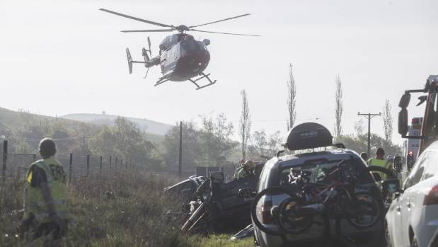 Boy in serious condition after three-vehicle crash in South Canterbury