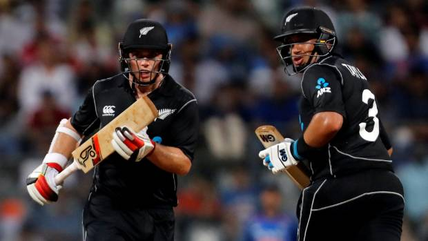 Tom Latham, Ross Taylor steer Black Caps to brilliant victory over India