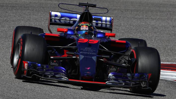 57b7d62b01a Brendon Hartley of New Zealand driving the Toro Rosso STR12 during the United  States Formula One