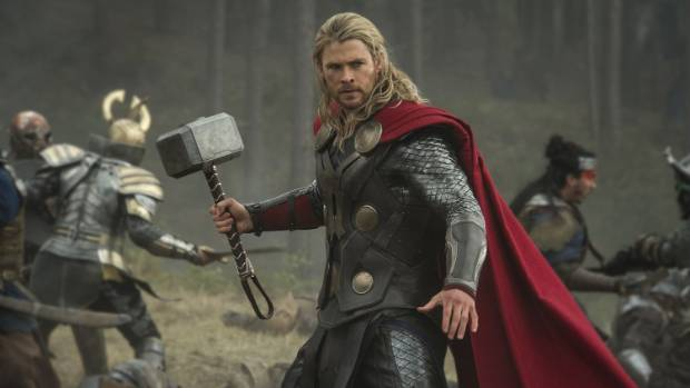 thor makes a heart breaking rip video to his beloved hammer