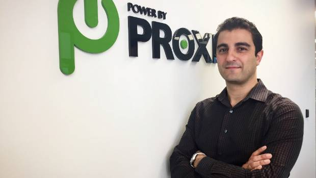 Auckland entrepreneur Fady Mishriki set up PowerbyProxi in 2007.
