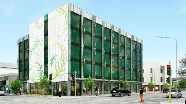Under construction central christchurch hotel now for sale for Landscape design company christchurch