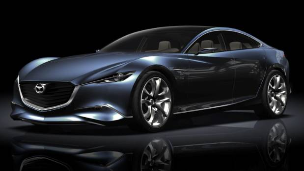 new generation mazda vision coupe sees the light of day. Black Bedroom Furniture Sets. Home Design Ideas