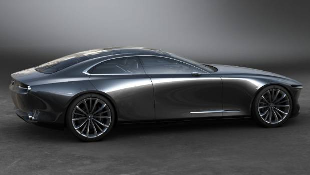 Mazda Vision Coupe concept is a stunning four-door coupe