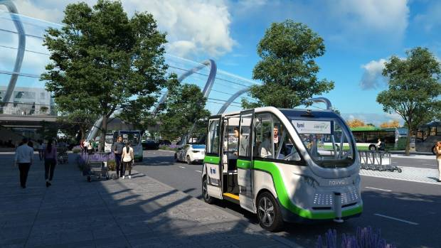 Autonomous Shuttles Are Expected To Start Ferrying Pengers From A Park And Ride Area At Christchurch