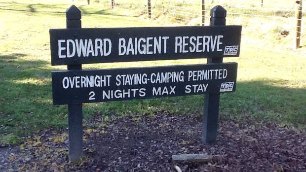 Freedom campers banned from popular reserve near Nelson