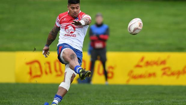 James So'oialo's accurate boot will be a key if Horowhenua Kapiti are to win the Meads Cup for the first time.