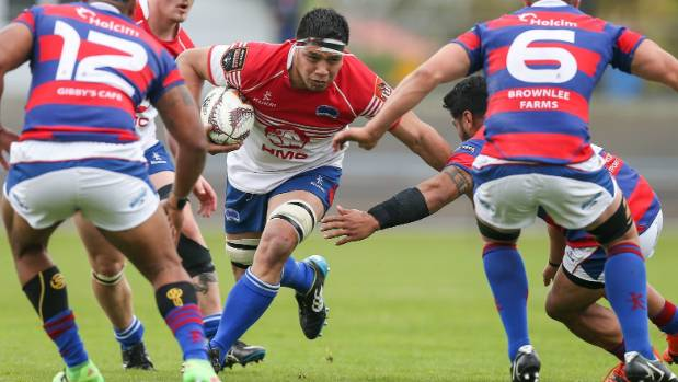 Horowhenua Kapiti No.8 Tyson Maki has been one of their stand-out players during the Heartland Championship.