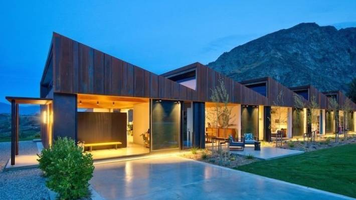One-of-a-kind 'Sawtooth House' in Queenstown sold to Kiwi