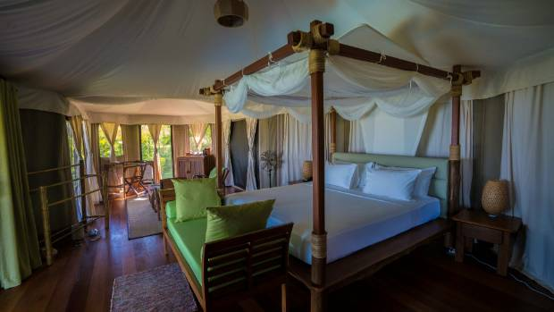 The lodge is strictly adults-only and designed for couples.