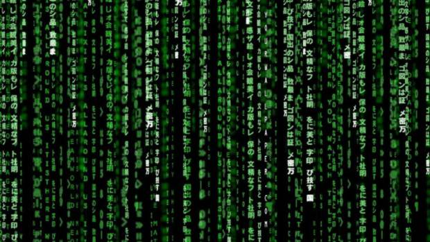 That green code in The Matrix is actually a sushi recipe