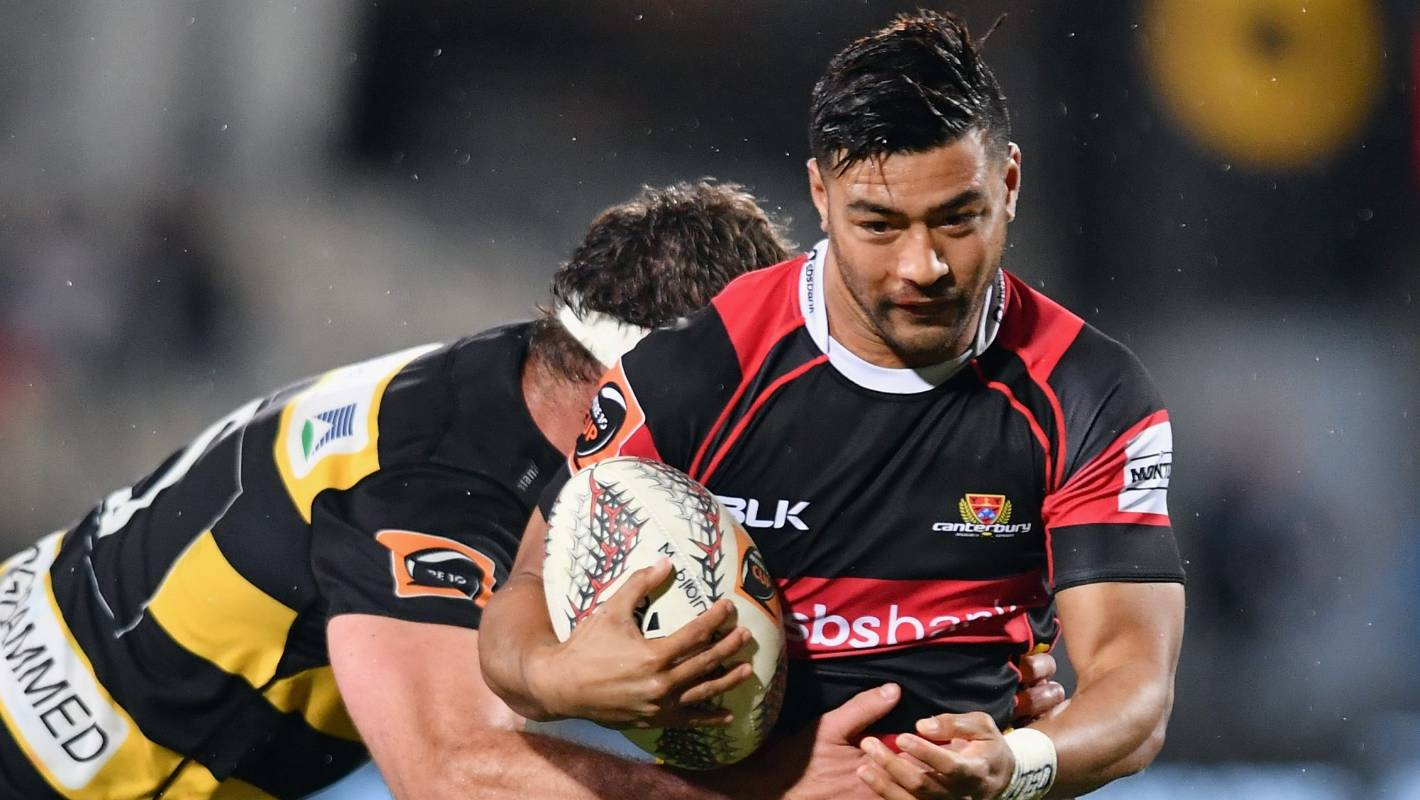 Mitre 10 Cup final against Tasman silver lining for Canterbury pivot Richie Mo'unga