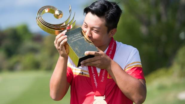 Yuxin Lin wins Asia-Pacific Am, spots in Masters, Open