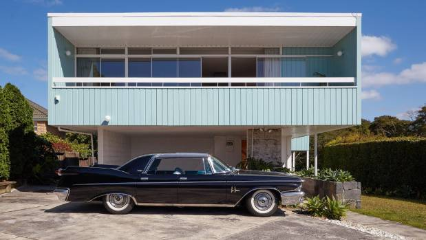 The Tapper House, as it is known, was designed by architect Vlad Cacala in 1957 and completed in 1960. It has now come ...