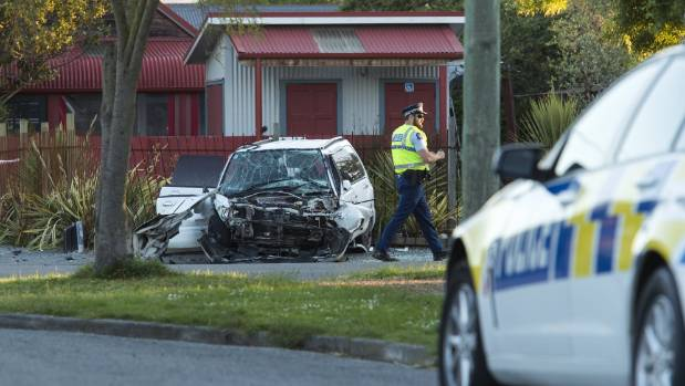 Car Crash Linwood