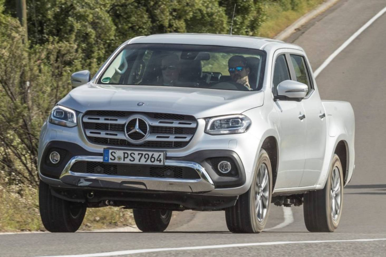 How much Nissan Navara is there in the Mercedes-Benz X-class? | Stuff.co.nz