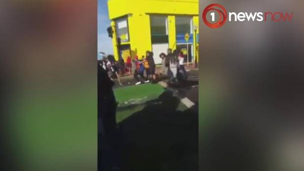 Four arrests after brawl between supporters of Tongan and Samoan ...