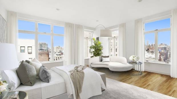 Rhianna 39 s manhattan penthouse hits market for 22 million Master bedroom ensuite and dressing room