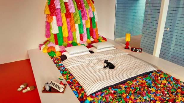 BIG's LEGO House recreated in (you guessed it) LEGO