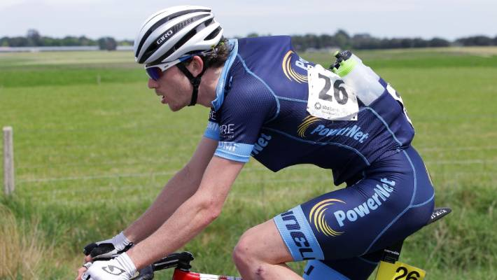 Canterbury's Ollie Jones juggling books and bikes on the Tour of