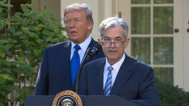 Trump 'not thrilled' with Fed chairman over interest rate hikes