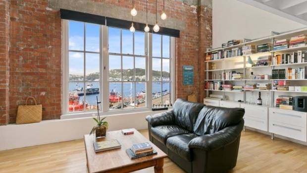 brick apartment building. The Two Bedroom  Top Floor Apartment Overlooks Wellington Harbour With The Tugboats As Neighbours Building Offers Harbour Views Exposed Brick
