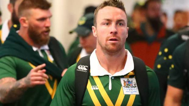 James Maloney in hasty exit from Kangaroos' World Cup camp