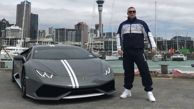 Chris Mosley With His Lamborghini Huracan, The Centre Of A Dispute With  Taupo Company Power