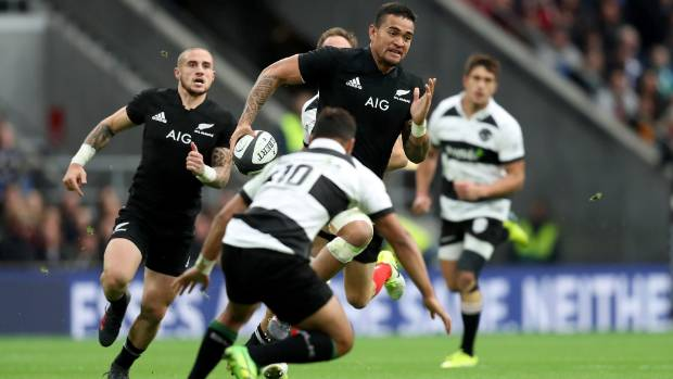 Tongan-born flyer Vaea Fifita has made his mark in his rookie All Blacks year.