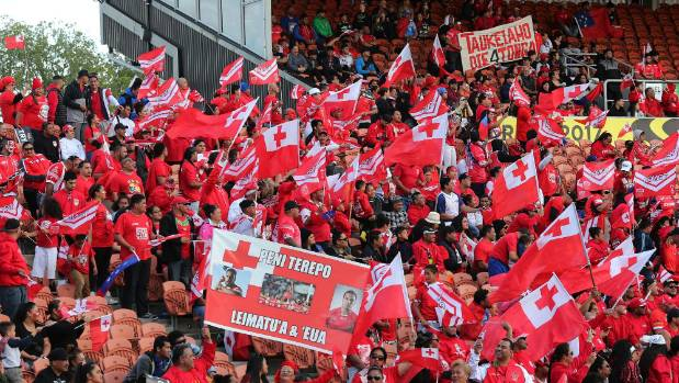 Samoa, Tonga fans brawl ahead of Rugby League WCup match