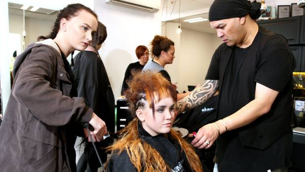 Special effects artist shares his secrets to success with for Dion hair salon