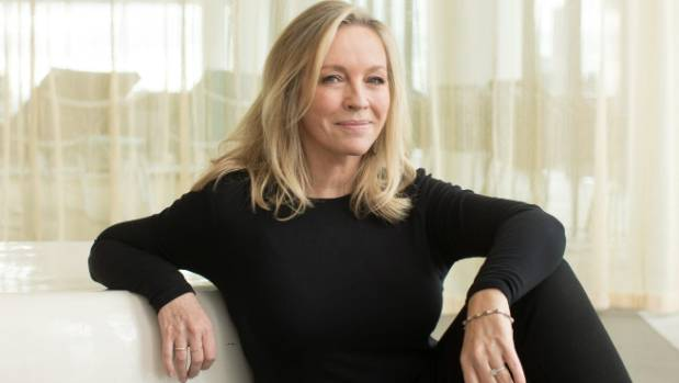 Rebecca Gibney  says that despite what her father did to her mother, she never grew up thinking all men were b...ards.