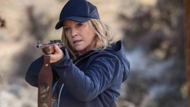 In Wanted, Rebecca Gibney plays Lola Buckley.
