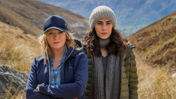 Rebecca Gibney and Geraldine Hakewill  star in Wanted.