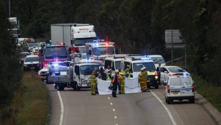 Killed in motorway crash trying to save boy | Stuff co nz