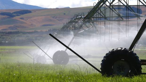 Irrigation in Canterbury's Mackenzie district