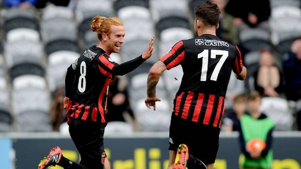 Aaron Clapham, left, has withdrawn from Canterbury United's squad for the rest of the season, citing personal reasons.