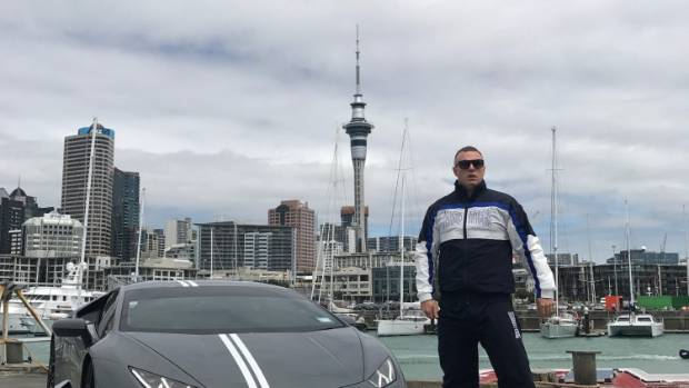 Chris Mosley With His Lamborghini Huracan, The Centre Of A Dispute With  Taupō Company Power