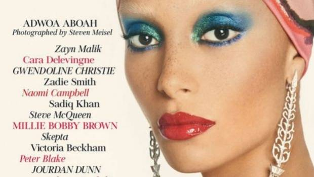 Adwoa Aboah Cover December Vogue 2017