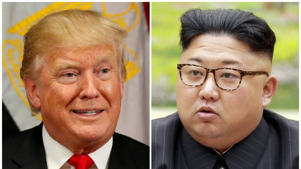 US President Donald Trump says Kim Jong Un's North Korea is a