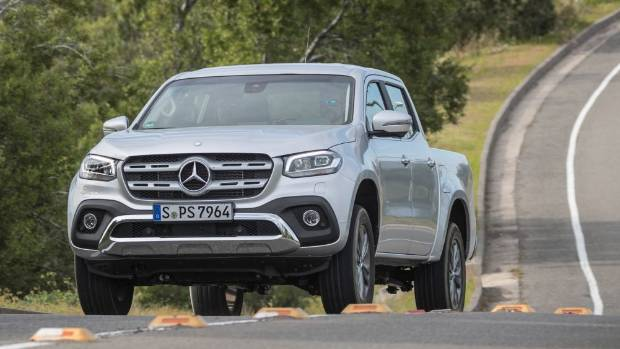 mercedes benz announces kiwi prices for x class pickup truck. Black Bedroom Furniture Sets. Home Design Ideas