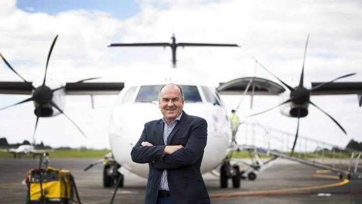 Increase in people flying into and from Hamilton Airport