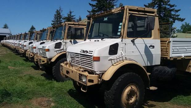 40 Former Defence Force Unimogs On The Auction Block