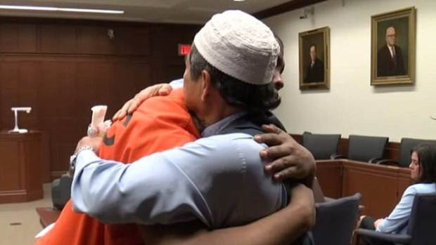 Muslim father forgives son's killer 'in the spirit of Islam'