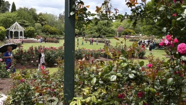 About a million visitors see the renowned Hamilton Gardens each year.