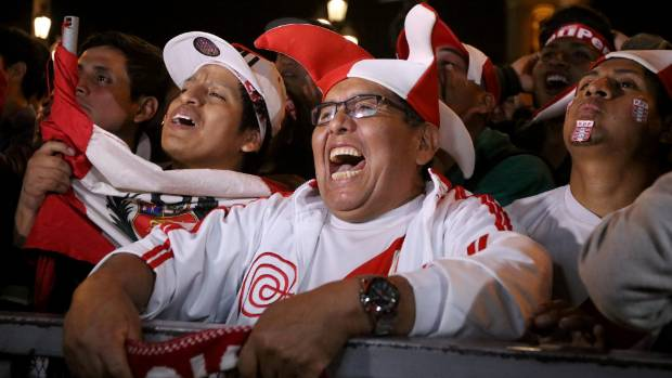 Peru locals put curse on the All Whites