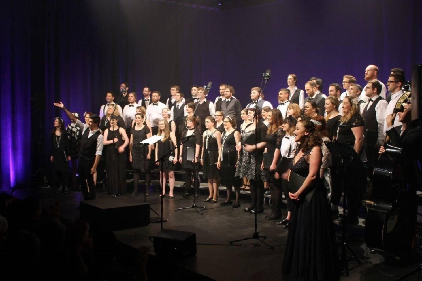 History sings as Wellington choir makes Feilding pit stop   Stuff ...